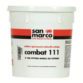 COMBAT 111  Добавка за бои и мазилки, предназначена за външни работи.